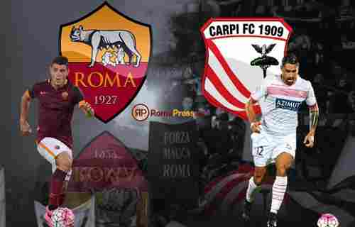 Preview Carpi vs AS Roma