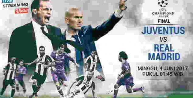 Final Liga Champions 2017, Juventus,Real Madrid ,Malam Ini
